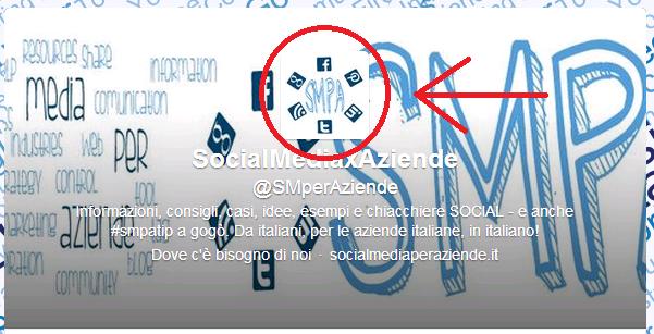 Social media per aziende - Twitter Profile Avatar
