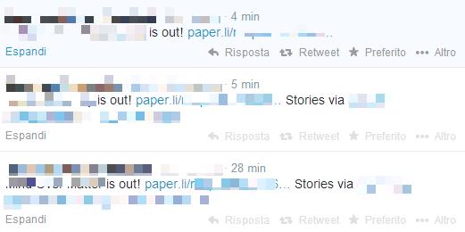 Twitter automatici