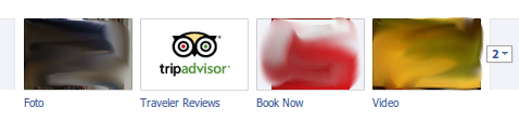 Tripadvisor app per facebook