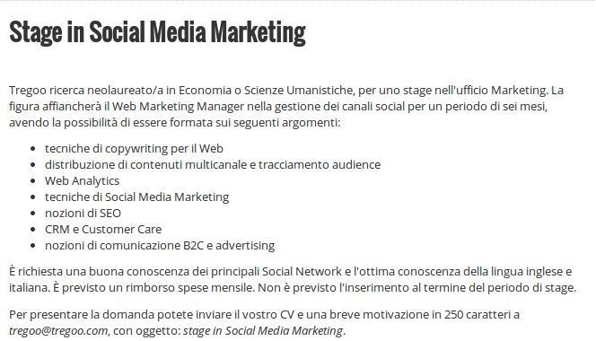 social media marketing stage