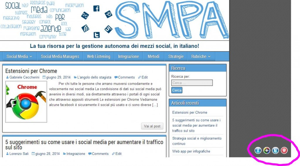 following buttons smpa