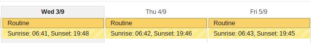 distrazioni google calendar