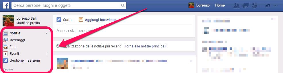 Preferiti Facebook