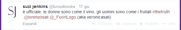 Twitter - mention dai colleghi