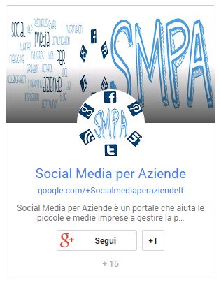 Badge di Google+