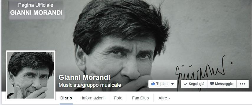 Gianni Morandi fan page