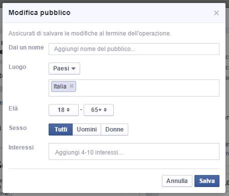 facebook-promozione-targetizzazione