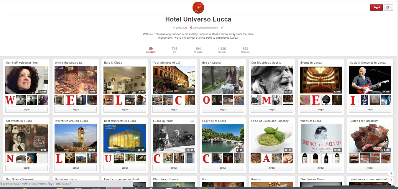 hotel universo lucca
