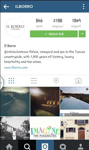 Il Borro _ instagram