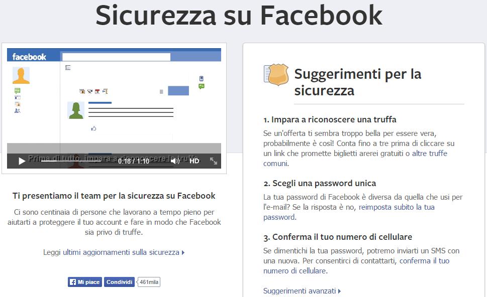 facebook-sicurezza