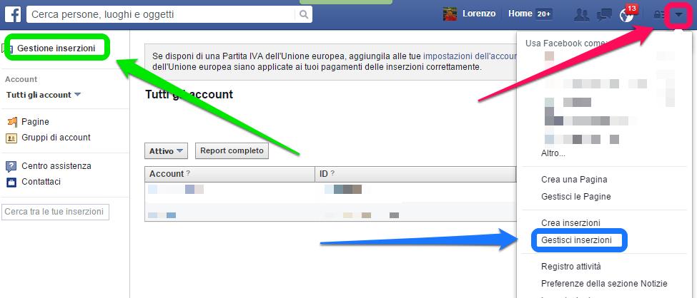 facebook-gestione-inserzioni
