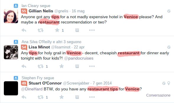 restaurant tips venice   Cerca su Twitter