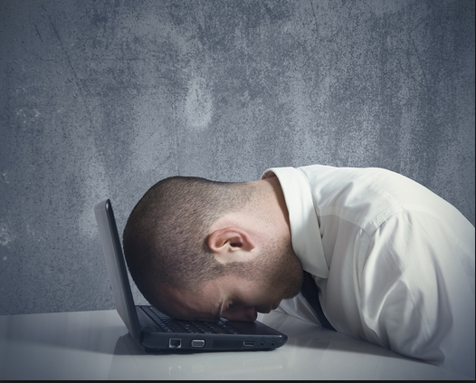 Social media coso stressato