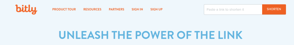 Bitly   The Power of the Link
