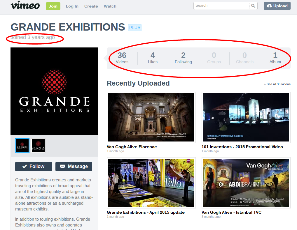 GRANDE EXHIBITIONS on Vimeo