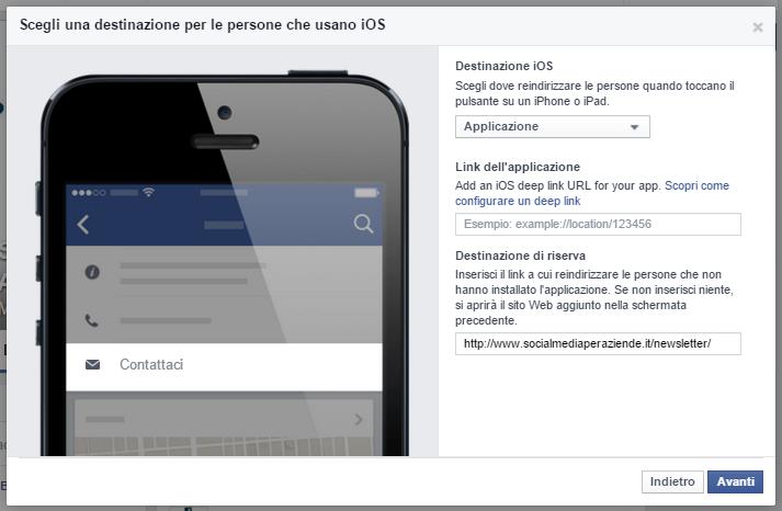facebook-invito-all-azione-applicazione