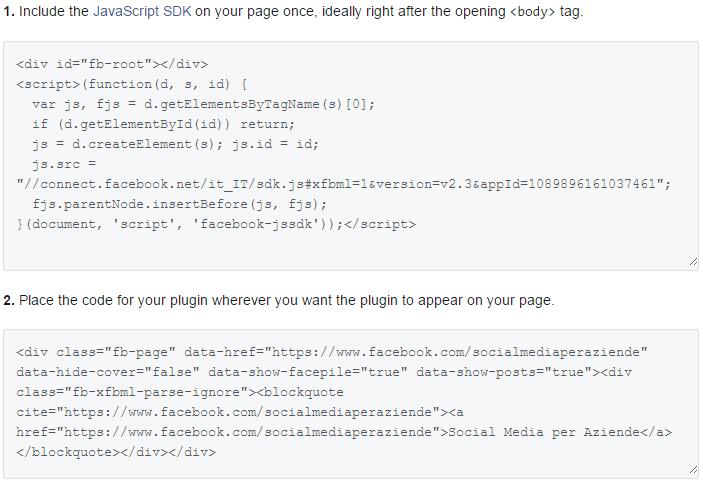 facebook-pagina-sito-codice-plugin