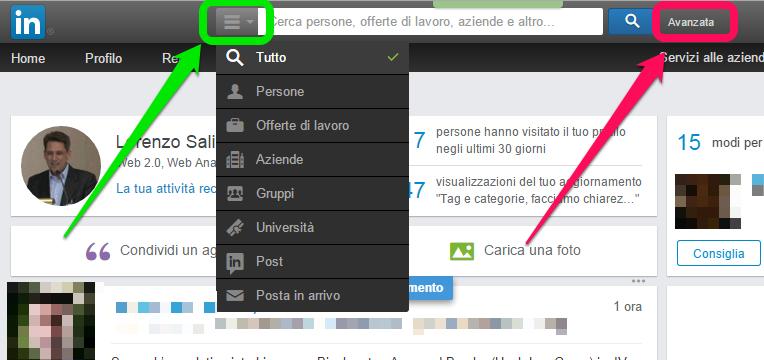 ricerca-linkedin