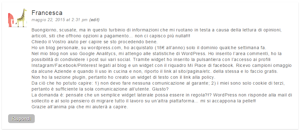 wordrpress-commento